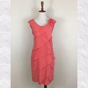 Cynthia Steffe Seamless Tiered Sheath Dress